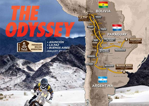 Trasy Rallye Dakar: Kudy se jede nejslavnější závod