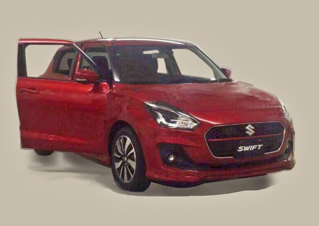 Nový Suzuki Swift 2018 prozrazen! Půjde cestou evoluce