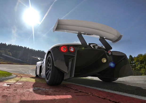 Elemental RP1 se dočkal vylepšení aerodynamiky. Nyní generuje přítlak 1000 kg!