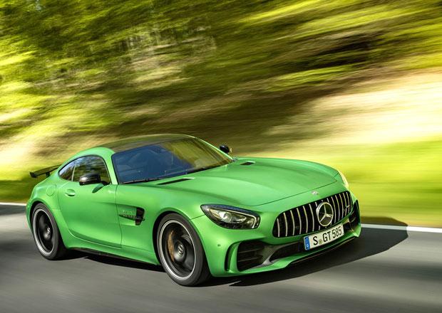 Mercedes-AMG GT R dorazil do Česka. Kolik stojí bestie ze Zeleného pekla?