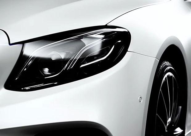 Mercedes-Benz E Coupé 2017 na prvním videu