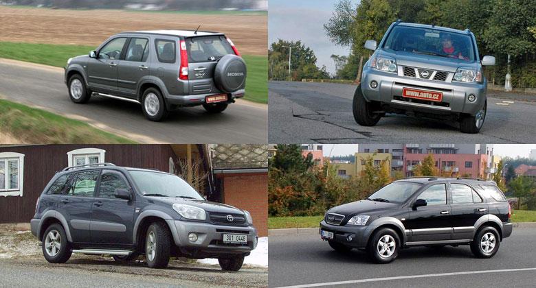 Čtyři tipy na ojeté SUV do 100.000 Kč. A jeden navíc!