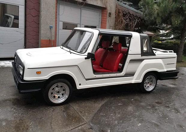 Tohle je nejošklivější Lada světa: Jmenuje se Bohse Euro Star a je to plážové auto