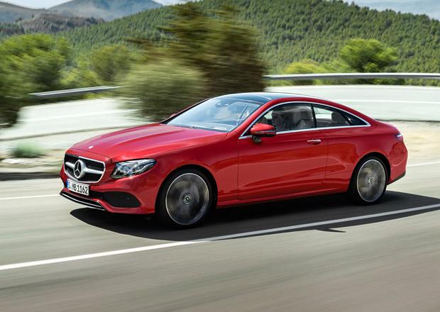 Nový Mercedes-Benz E kupé oficiálně: Je pro vás C kupé moc malé a S kupé moc velké?