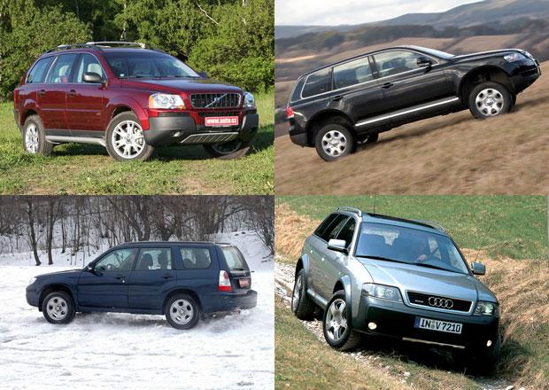 Vybíráme nejlepší ojetá SUV do 200.000 korun!