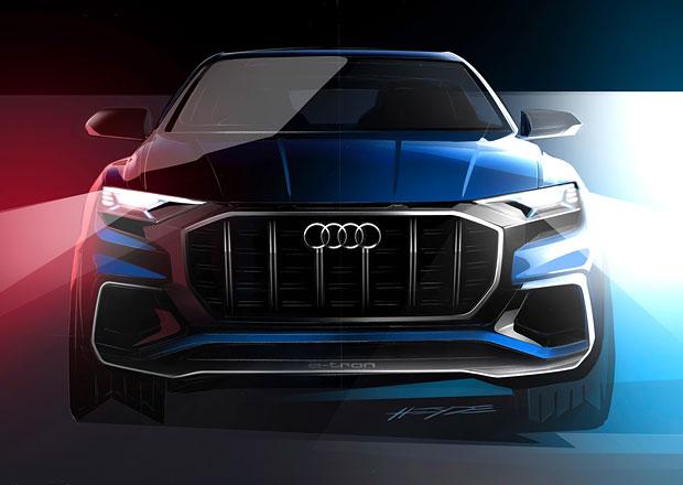 Audi Q8: Koncept luxusního SUV na prvních oficiálních skicách