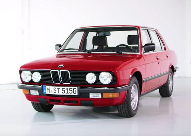 BMW řady 5 E28: Druhá generace pětky vznikla na počítači z účtárny (video)