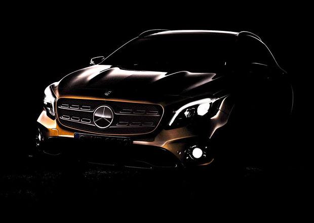 Mercedes-Benz láká na modernizovaný crossover GLA. Premiéra už v Detroitu!