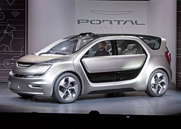 Chrysler Portal je jako obývák na kolech (+videa)