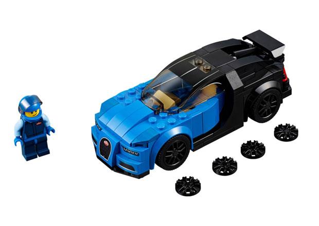Cenově dostupné Bugatti Chiron? Od Lega!
