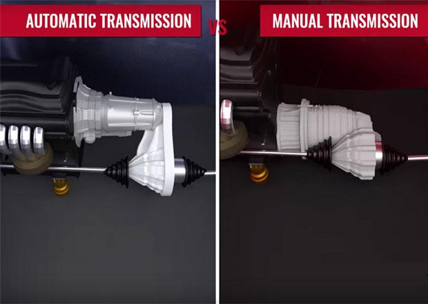 Manuální vs. automatická převodovka: V čem jsou hlavní rozdíly? A která je lepší?