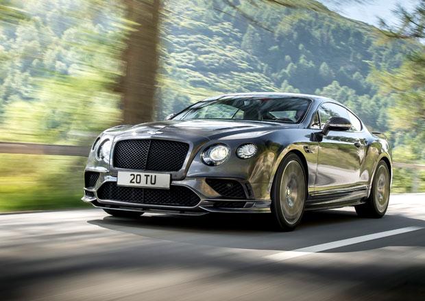 Continental Supersports je nejrychlejší bentley historie. Jak je rychlé?