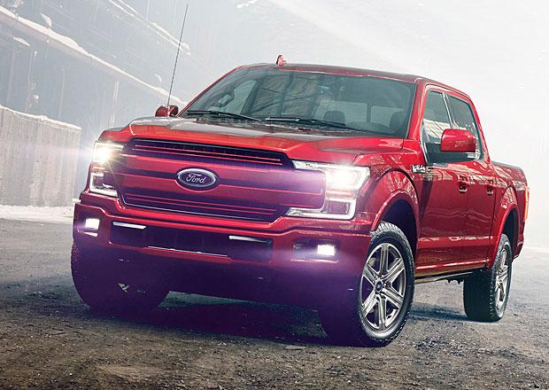 Ford F-150 model 2018: Užitková legenda s novým čumákem a turbodieselem