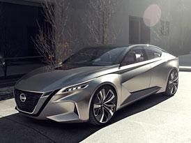 Nissan Vmotion 2.0 je koncept ostrý jako břitva (+video)