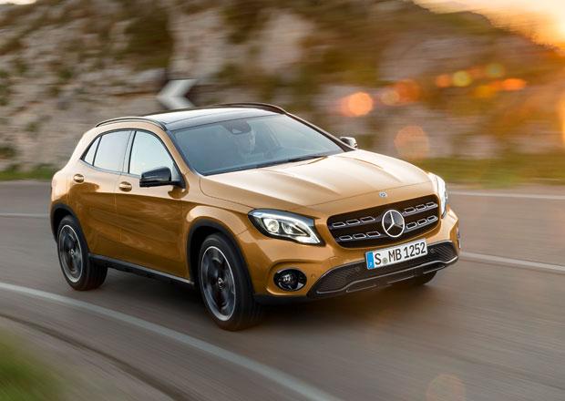 Mercedes-Benz GLA a GLA 45: Facelift s prvky fitness