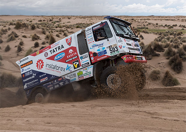 8. etapa Dakaru 2017: Kolomý je v desítce