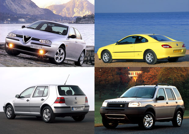 Nečekaní staříci: Věřili byste, že těmto autům bude letos už 20 let?