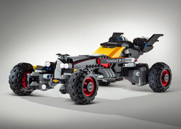 Nejšílenější dílo z Lega? Batmobile v životní velikosti, větší než Audi Q7!
