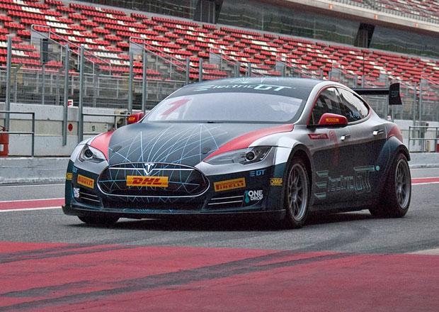 Závodní Tesla Model S představena. Na stovce za dvě sekundy!