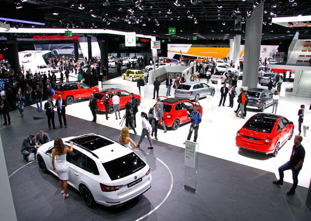 Autosalon Frankfurt nad Mohanem