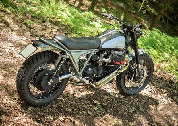 Moto Guzzi MagmaMille: Moderní scrambler z klasického cesťáku