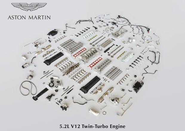 Podívejte se na Aston Martin 5.2 V12 Twin Turbo rozebraný do posledního šroubku!