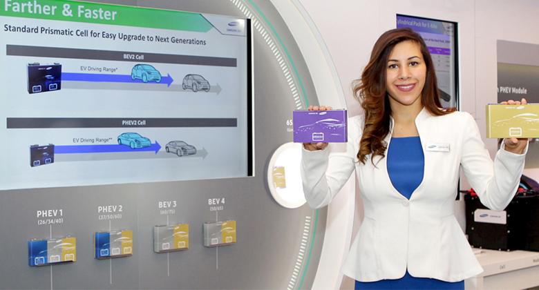 Nové baterie Samsungu pro elektroauta: Dojezd 600 km a dobití za 20 minut!
