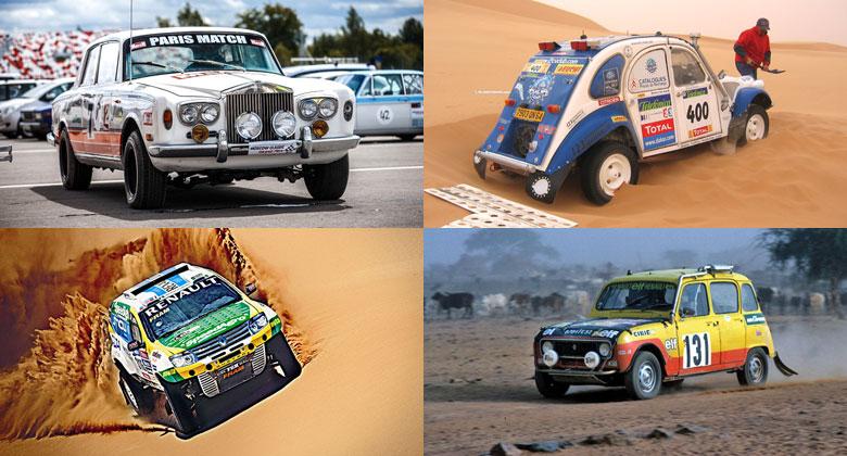 I tyhle podivnosti jely Dakar! Rolls-Royce, šestikolka, kačena i Lada...