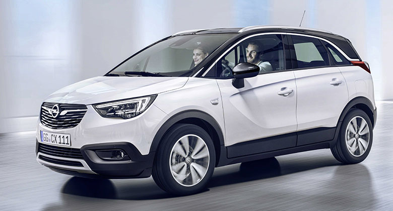 Opel Crossland X je oficiálně tady. Zmenšená Mokka X jde po krku městským crossoverům