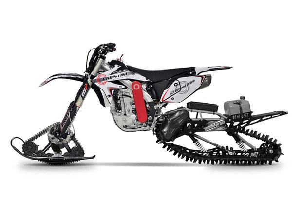Christini II-Track je sněho-motorka! Jak se na tomhle jezdí...