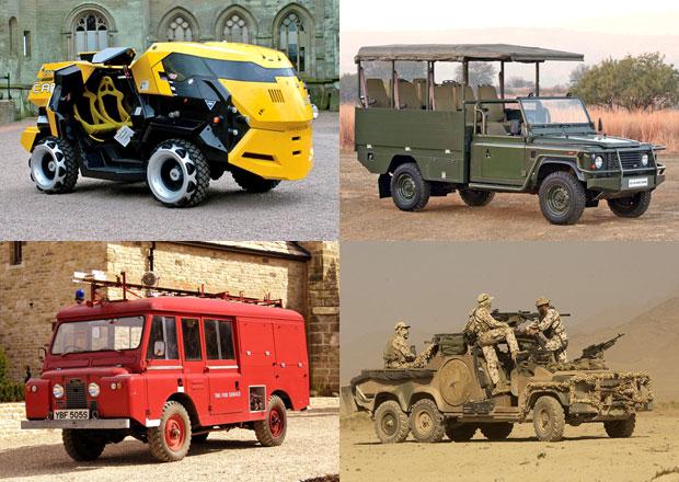 Land Rover Defender jak jej (možná) neznáte. Přehled speciálních verzí!