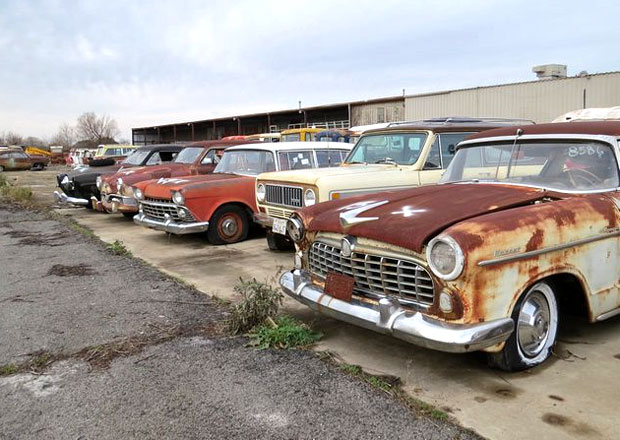 The Ron Hackenberger Collection míří do aukce. Dražit se bude přes 700 strojů!