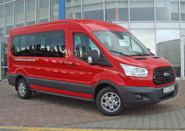 Ford Transit Kombi 2.0 TDCi 310L  L3 Trend: Osm míst
