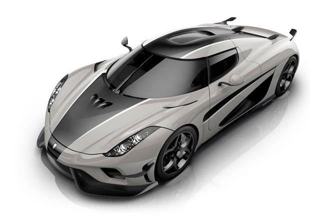 Koenigsegg Regera je s novými aerodynamickými prvky jako vesmírná loď
