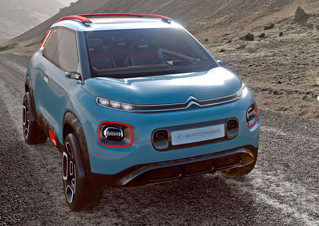 Citroën C-Aircross: Francouzská představa o SUV budoucnosti