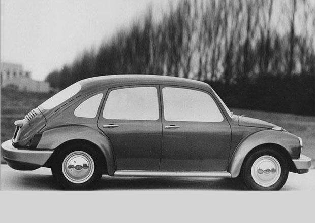 VW Brouk měl dostat dva páry dveří. Pak ale přišel Golf
