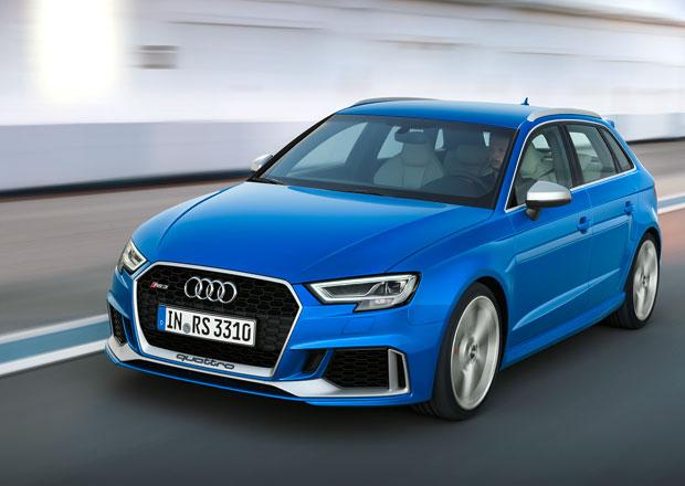 Audi přiváží na český trh modely RS 3 a TT RS. Kolik stojí s pětiválcem?