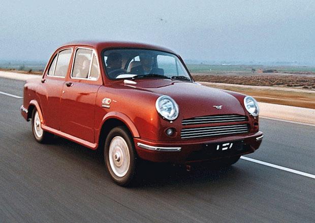 Indickou automobilovou značku Ambassador koupil Peugeot