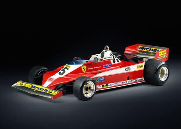 Slavné Ferrari 312 T3 hledá domov. Chcete tuhle legendární F1?