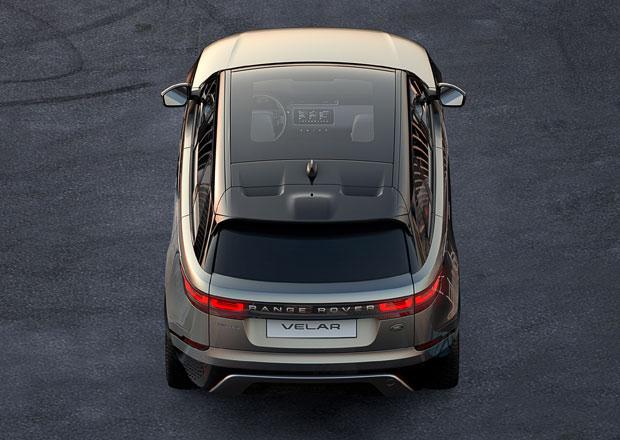 Range Rover Velar míří mezi Evoque a Range Rover Sport
