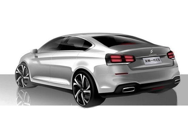 Citroën ukazuje první skicu nové generace C5. Proč z ní nemáme radost?