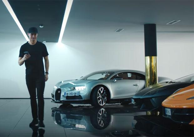 Video: Christiano Ronaldo vyzkoušel Bugatti Chiron. Jaká byla jeho reakce?