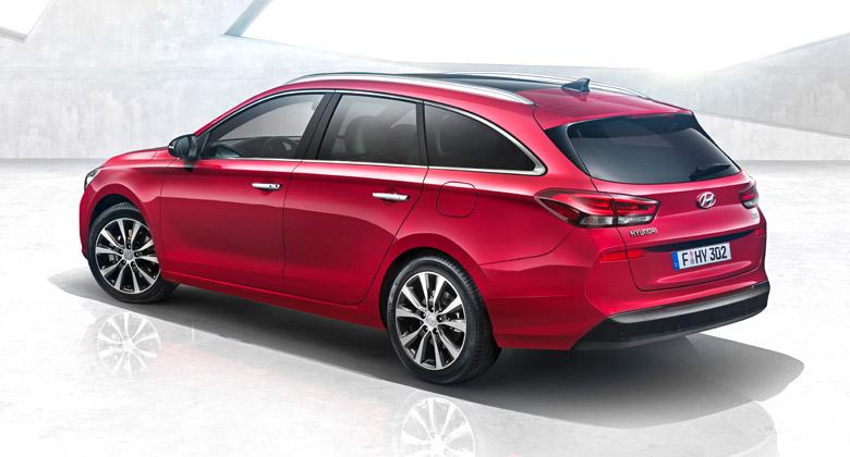Hyundai i30 kombi oficiálně. Vypadá jako Mercedes CLA Shooting Brake