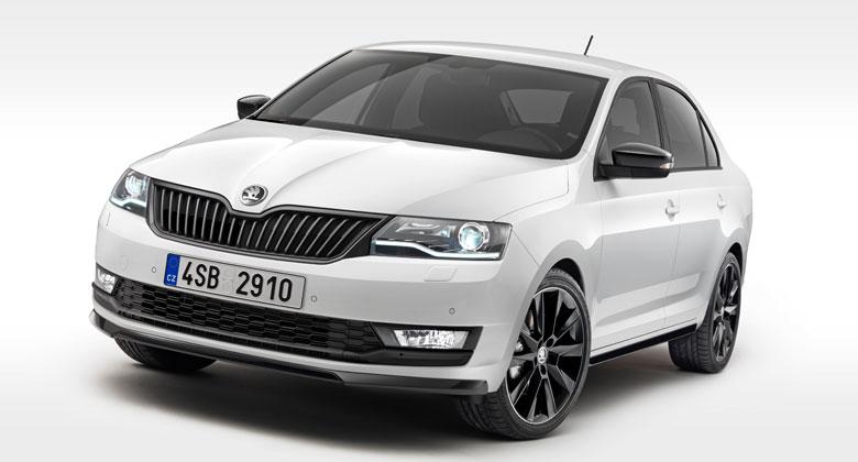 Škoda Rapid má po faceliftu. Dostala tříválec 1.0 TSI, bixenony a internet