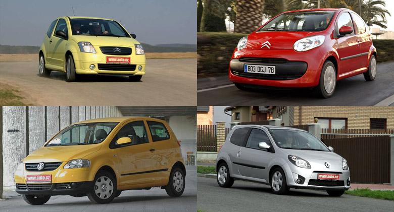 Pět ojetých miniaut do 100.000 korun: Co v autě není, nemůže se pokazit?