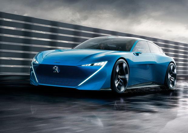 Peugeot Instinct oficiálně: Shooting brake má 300 koní a jezdí úplně sám