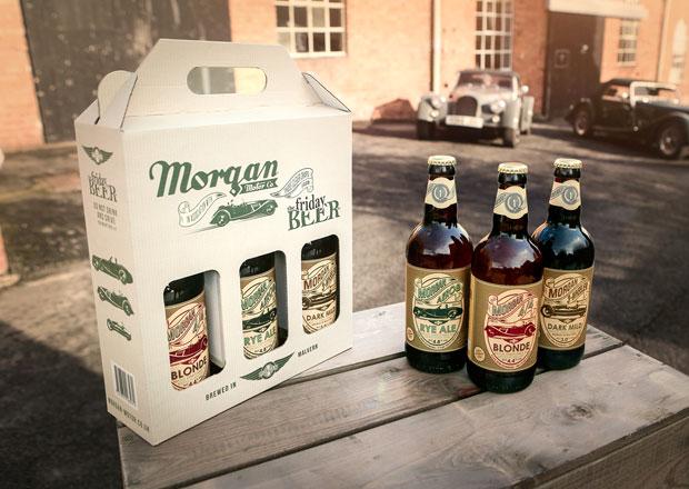 Morgan Motor Company nyní nabízí vedle aut i pivo... Alkoholické!