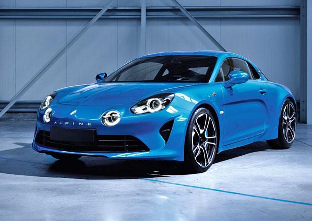 Produkční Alpine 110 míří do Ženevy. Má čtyři oči a dynamiku Porsche Cayman S