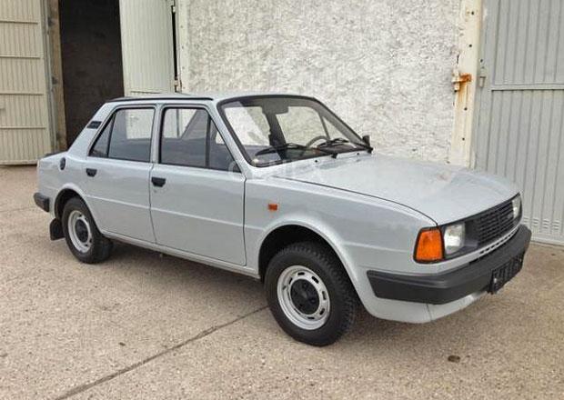 Na prodej je Škoda 105 L v bezvadném stavu. Stojí stejně jako nové citigo