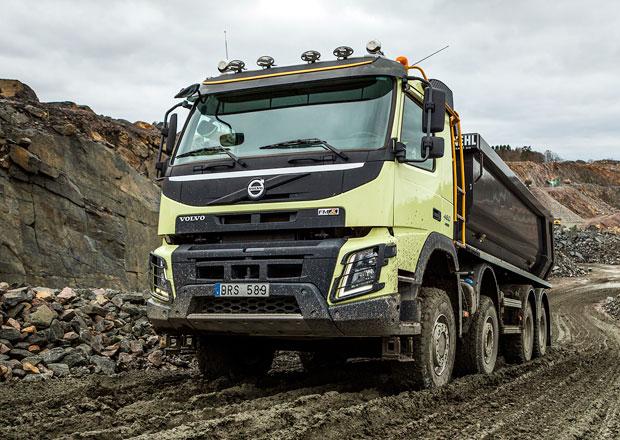 Přídavné pohony předních kol: Automatické zuby od Volvo Trucks